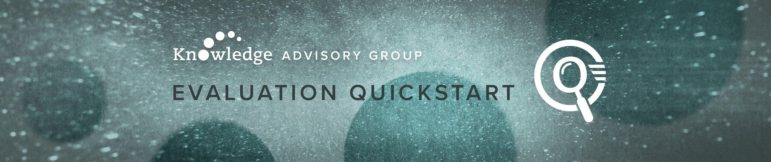 Evaluation Quickstart Graphic